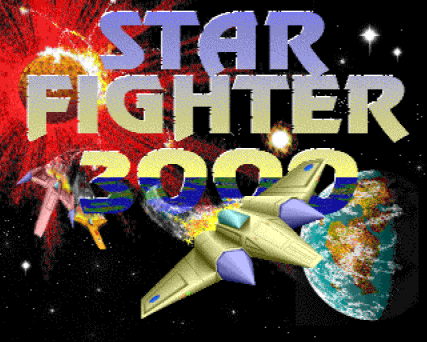 Star Fighter 3000 logo