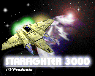 New Star Fighter 3000 title picture